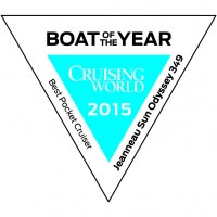 Jeanneau Sun Odyssey 349 boat of the year 2015, Sailing Yacht Charters in Cyprus with Latchi Charters Cyprus