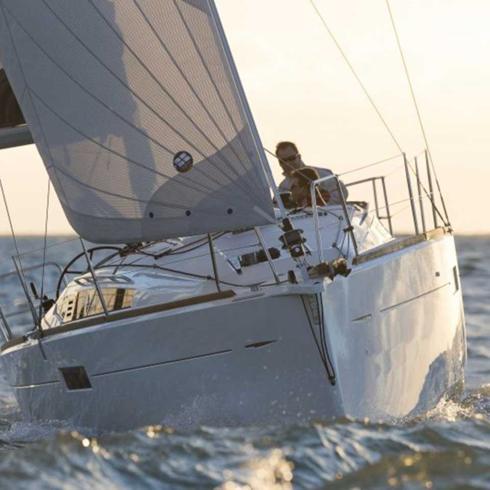 Jeanneau Sun Odyssey 349, Sailing Yacht Charters in Cyprus with Latchi Charters Cyprus
