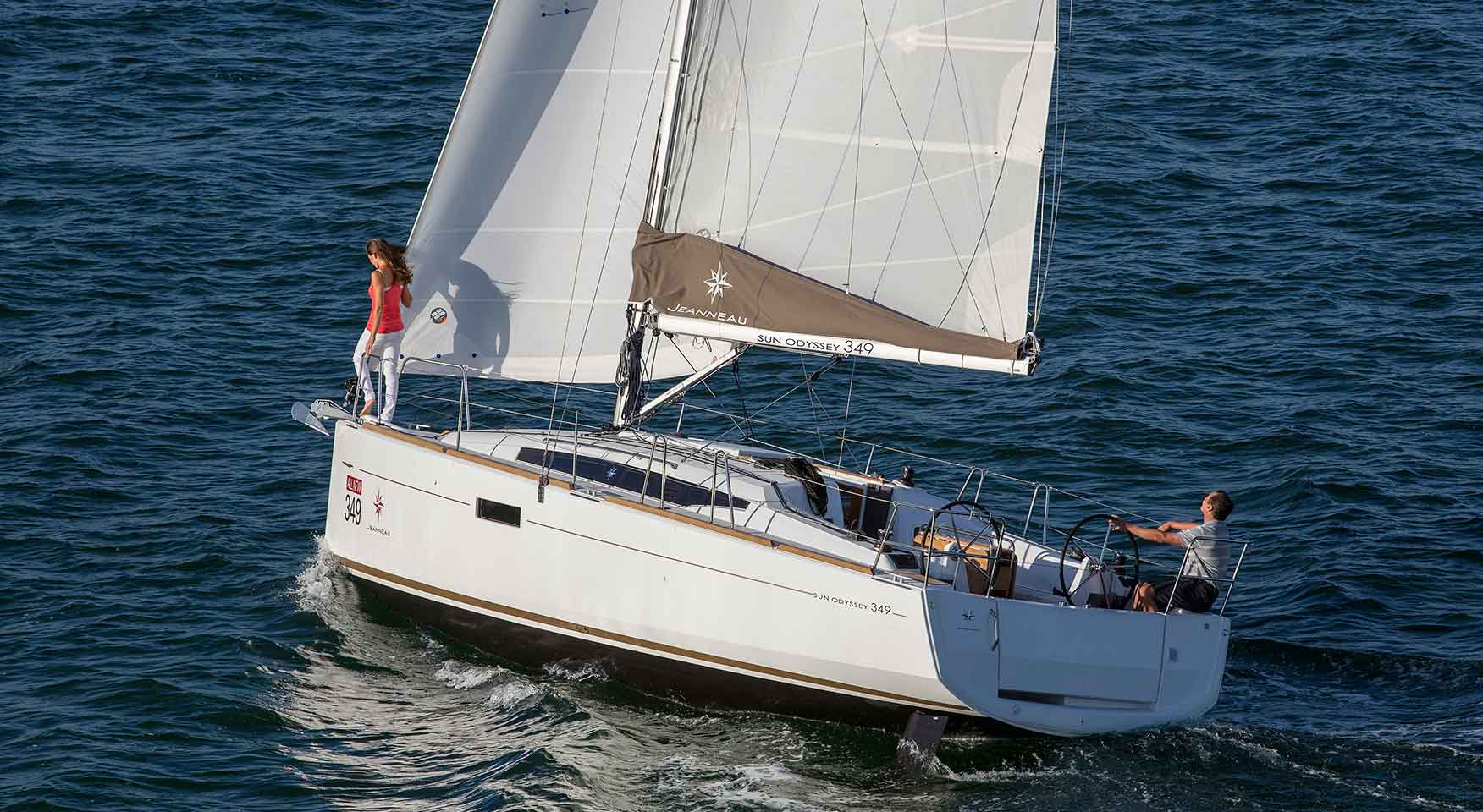Jeanneau Sun Odyssey 349 Yacht charters in Cyprus by Latchi Charters